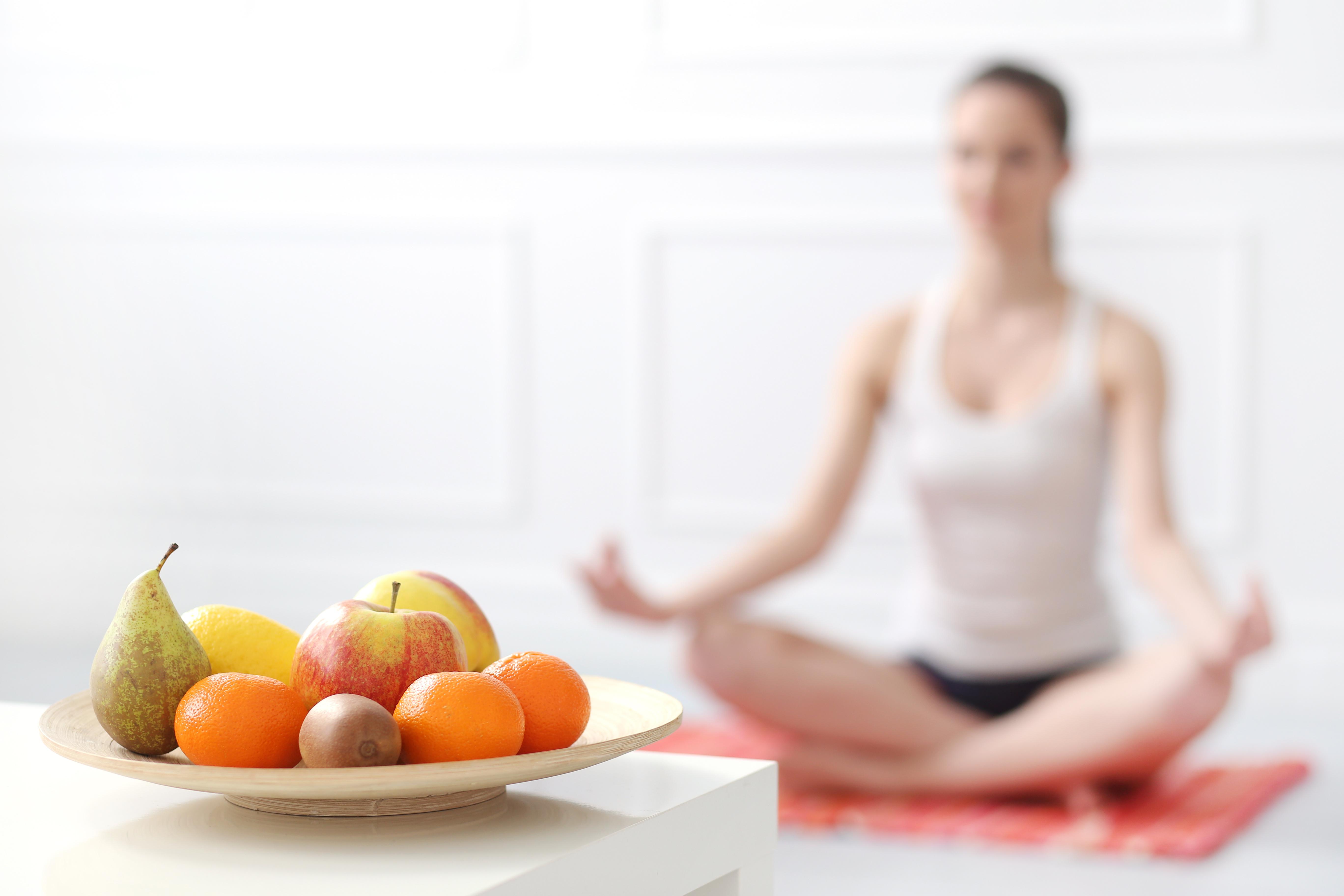 Yoga und Grüne Diät